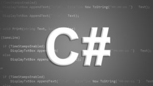 Programming with C#